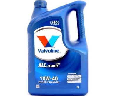 ULEI VALVOLINE ALL CLIMATE EXTRA 10W40 5L